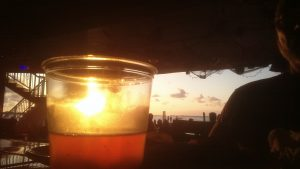 Sunset at the Bayside Grille